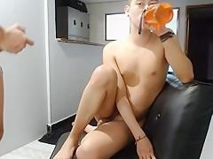 Chaturbate – Leo & Jeicol – anal fucking