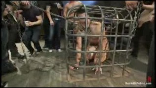 Tied up guy gets repeatedly fucked